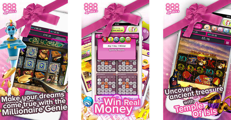 888 Ladies Bingo app