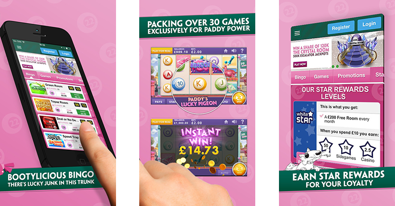 paddy power mobile bingo