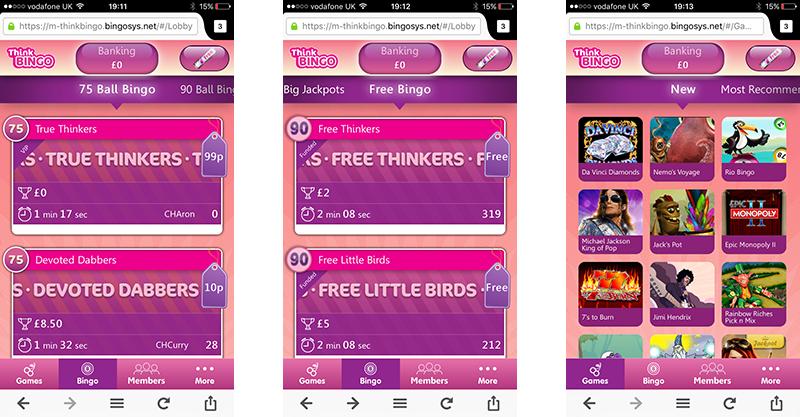 think-bingo-android-screenshots