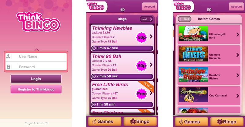think-bingo-app-screenshots