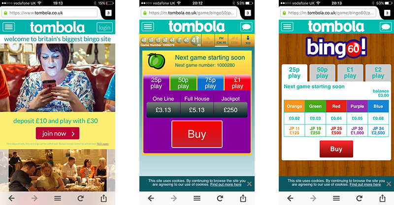 Tombola Bingo app for Android