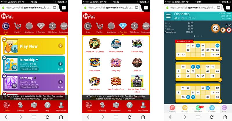 32Red Bingo App