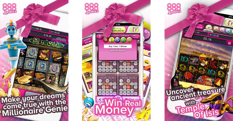 888 Ladies Bingo app