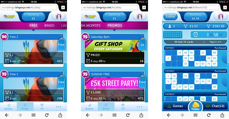 Rio Bingo App